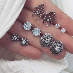 Jewelry - 💎 Bohemian Boho Earrings Set 5 Pairs